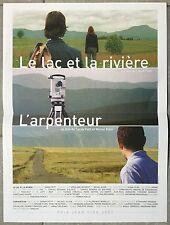 Affiche LE LAC ET LA RIVIERE L'Arpenteur SARAH PETIT Michel Klein 40x60cm *