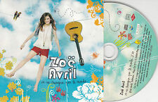 CD CARTONNE CARDSLEEVE COLLECTOR 1T ZOÉ AVRIL ON NE CHANGE PAS LE MONDE 2008