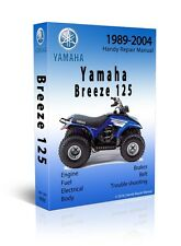 1989 - 2004 Yamaha Breeze / Grizzly 125 Service Repair Manual - CD Only