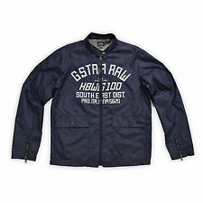 G STAR RAW Herren Jacke L EAST JKT blau Windjacke Men Jacket Oberteil Cardigen