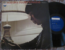HAYDN - Piano Sonatas MEIKO MIYAZAWA JAPAN ONLY SAMPLE LP STEINWAY NM-