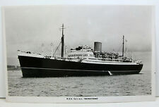 SHIP POSTCARD: RANGITANE N.Z.S. Co's m.v. Real Photo Postcard, unposted