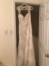 Maggie Sottero Jade Preowned, gently Used Wedding Dress Size 12