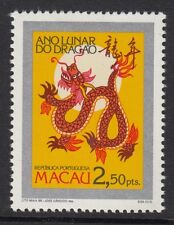 MACAU : 1988 Year of the Dragon SG661  MNH