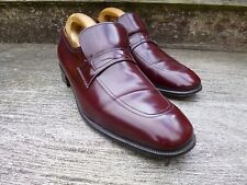 CHURCH VINTAGE LOAFERS – BROWN / OXBLOOD  – UK 9 – SUPERB CONDITION