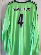 Chelsea David Luiz 4 2010-2011 Third Away Football Shirt Size XXL /8233