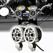 "7/8"" 1"" Motorcycle Radio MP3 Handle Bar Mount Speakers Amplifier For Harley Bike"