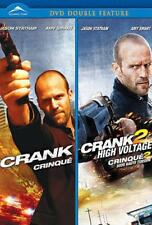 CRANK / CRANK 2 - JASON STATHAM - 2 DISC 2 WIDESCREEN DVD SET - SHIPS NEXT DAY