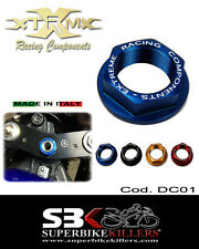Lenkkopfmutter, EXTREME,Suzuki GSXR 750 600 K6 K7 K8 K9 L0 L1 .Blau  DC01