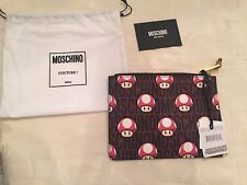 Moschino Couture Jeremy Scott Super Mario Mushroom Pouch / CLUTCH SUPER RARE