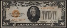 FR2402* $20 1928 GOLD NOTE STAR NOTE VF-XF WL6803
