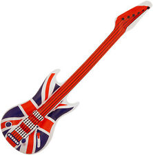 INFLATABLE UNION JACK GUITAR AIR GUITAR