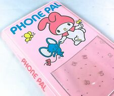 VTG SANRIO ❤︎ MY MELODY STATIONERY PHONE PAL BOOK ❤︎ COIN CHARM RARE KAWAII 1976