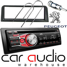 Peugeot 106 JVC CD MP3 AUX In Car Stereo Radio Player & Full Fitting Kit