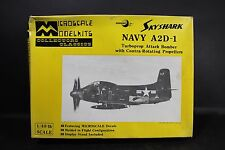 Vintage Microscale Model Kits 1/48 Skyshark Navy A2D-1 Bomber Airplane #MS4-1