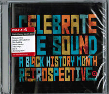 CELEBRATE THE SOUND: A Black History Month Retrospective [TARGET CD, 2014] NEW!
