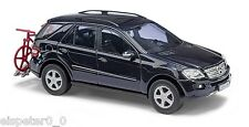 Busch 49819 Mercedes Benz M Class with Bike rack, H0 Car Model 1:87