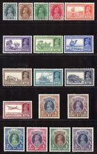 INDIEN INDIA 1937 Freimarken Georg VI  146-163 * Falzrest White Gum MLH RAR