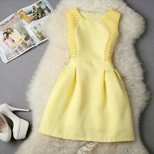 LM Boutique New Sexy Canary Yellow Dress Small 2 Day Free Shipping