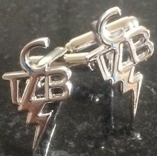 Elvis Presley Taking Care Of Business TCB CUFFLINKS  Free Christmas Gift Pouch