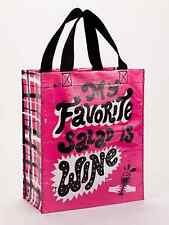 "Blue Q ""My Favorite Salad is Wine"" lunch tote bag recycled eco by Paul Bower"