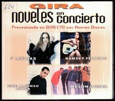 GIRA NOVELES EN CONCIERTO - SPAIN DIGIPACK CD Epic 1999 - 12 Tracks - Promo
