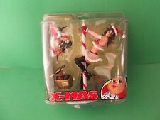 "MCFARLANE TWISTED X-MAS  ""SEXY MRS. CLAUS"" 9""IN FIGURE   ""RARE"""