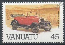 1927 FORD MODEL A CAR STAMP (Mint) (1987 Vanuatu)
