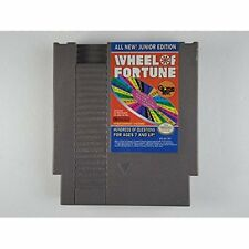 Wheel Of Fortune: Junior Edition For Nintendo NES Vintage Good 6E