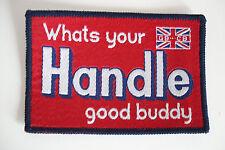 Whats il vostro MANIGLIA buona Buddy Sew su patch solo......... radio_trader_ireland.