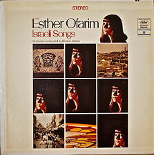 ESTHER OFARIM: Israeli Songs-NM1968LP