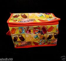 WALLS ICE CREAM DESIGN INSULATED COOLER BAG LIMITED EDITION COLORFUL W STRAP