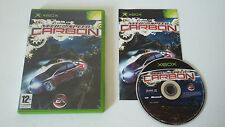 NEED FOR SPEED CARBON - MICROSOFT X BOX - JEU X BOX COMPLET