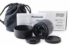 Panasonic Lumix G 25mm F1.7 Aspherical Black [Mint] free shipping from Japan