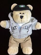 Starbucks Bearista Bear Seattle Hoodie Hometown Special Edition Plush Soft Toy