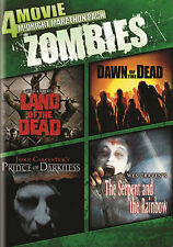 NEW 4 Movie Midnight Marathon Pack: Zombies (DVD, 2014) land dawn of the dead