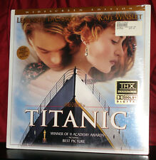 New! WS 'TITANIC' on Double THX Laser Disc with AC-3 Audio - SEALED!