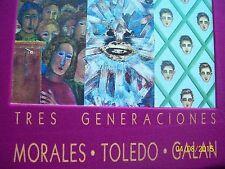 RODOLFO MORALES. FRANCISCO TOLEDO. JULIO GALAN. MEXICAN ART BOOK.