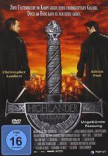 HIGHLANDER-ENDGAME (SINGLE) - CHRISTOPHER LAMBERT, ADRIAN PAUL -  DVD NEU