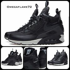 Sz 9.5 Nike Air Max 90 Sneaker Boot Mid SP Winter Pack Black Grey 684714-001