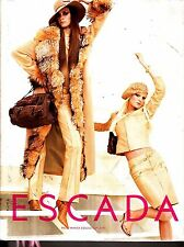 Escada Fall/Winter Collection 2004 Jackets Pants Blouses Accessories