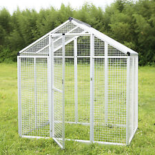 LARGE Bird Cage Play Top Parrot Walk In Aviary Pet House