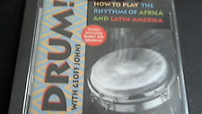 "Geoff Johns ""drum-How to Learn the Rythms od Africa and Latin America"""