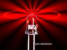 15 Stück Leuchtdioden  /  Led / 5mm rund ROT 1000mcd max. / Abstrahlwinkel 40°