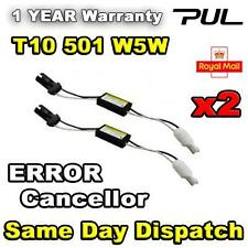 2 x T10 501 W5W CANBUS NO ERROR LED Sidelight Load Resistors