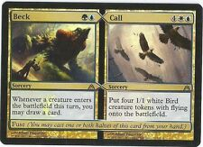 1x Foil - Beck / Call - Magic the Gathering MTG Dragon's Maze