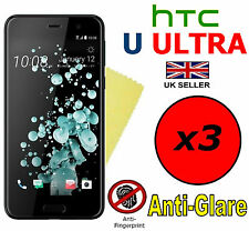 3x HQ MATTE ANTI GLARE SCREEN PROTECTOR COVER FILMS GUARD FOR HTC U ULTRA