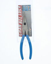 Channellock 317 Long Nose Plier with Side Cutter, 8in