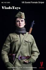 "VERYCOOL: 1/6 scale 12"" action figure WWII Soviet Female Sniper (VCF-2025) USA"