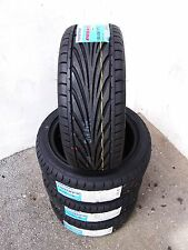 4X 195/45/15 TOYO PROXES T1R LOW PROFILE STRETCH TIRES HELLAFLUSH CIVIC INTEGRA
